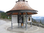 Information kiosk at Tantalus viewpoint